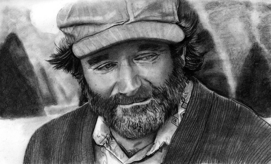Robin Williams by arwenpandora