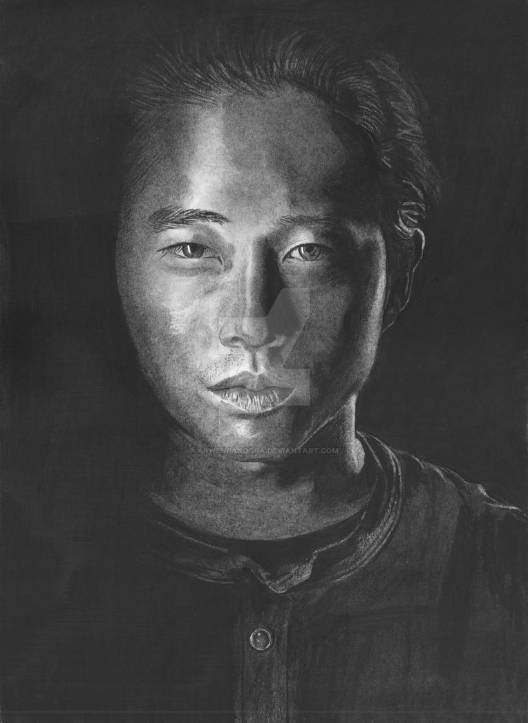 Walking Dead - Glen - Steven Yeun by arwenpandora