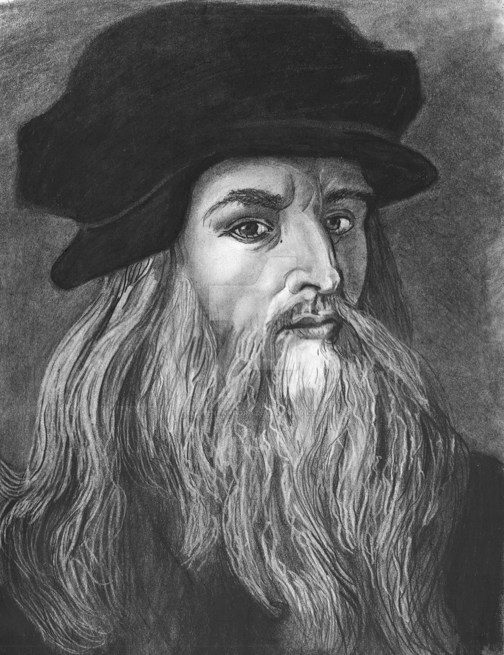 Leonardo Da Vinci young by arwenpandora on DeviantArt