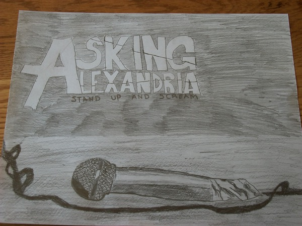 stand up and scream asking alexandria by somberdimlight