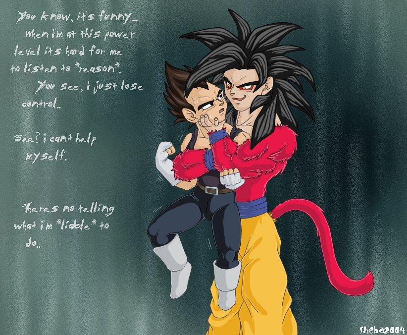 Gokus Liable To Rape Vegeta By Dragonballdeviants
