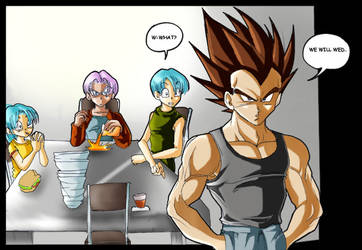 DB:dropping the bomb by dragonballdeviants