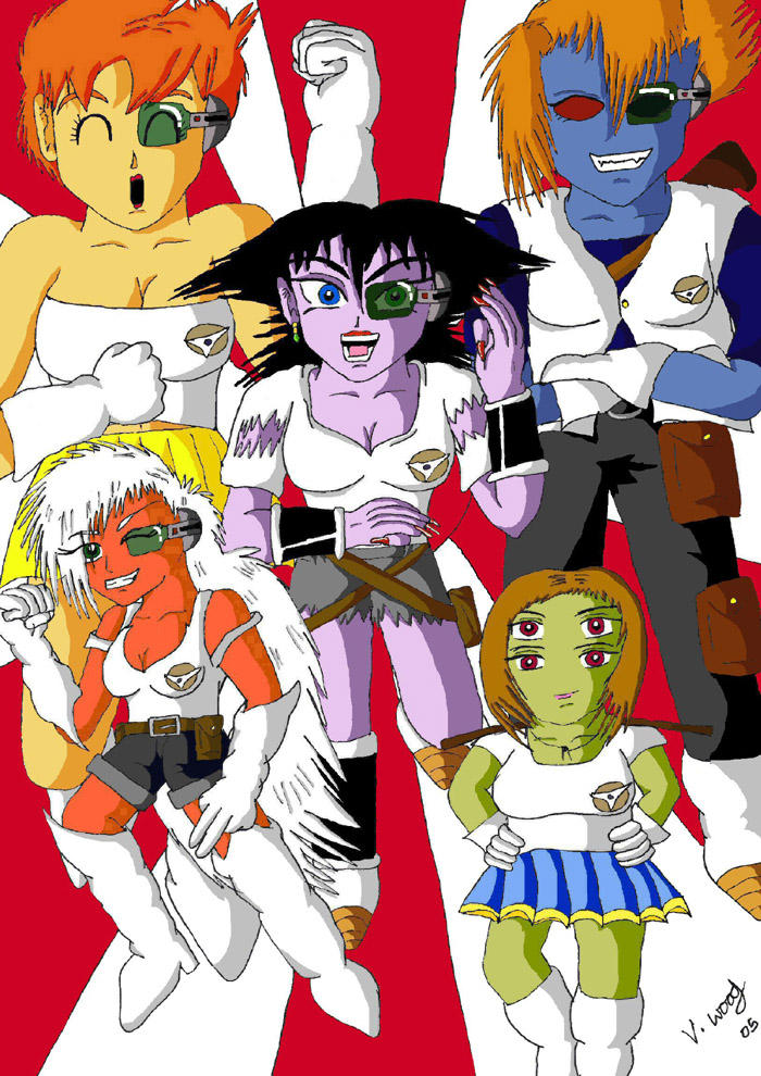 gender bender the ginyu force by dragonballdeviants on