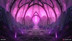 Celestial (Scifi Landscape / Symmetry Concept Art)