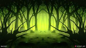 Greenwood (2D Landscape / Symmetry Concept Art)