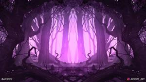 Magic (2D Landscape / Symmetry Concept Art)