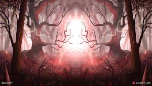 Guru (2D Landscape / Symmetry Concept Art)