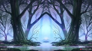 Quagmire (Swamp Landscape / Symmetry Concept Art)