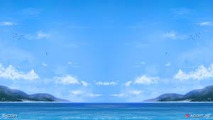 Pacific (Ocean Landscape / Symmetry Concept Art)