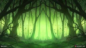 Fern (Forest Landscape / Symmetry Concept Art)