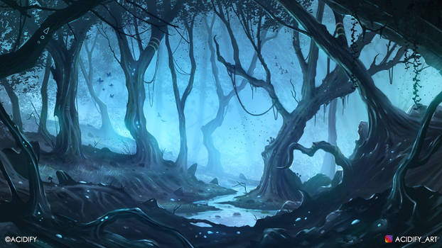 Eternal (Fantasy Forest Landscape Concept Art)