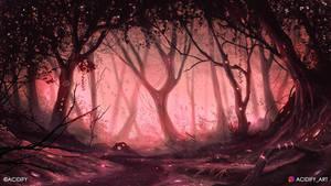 Trail (Fantasy Forest Landscape Concept Art)
