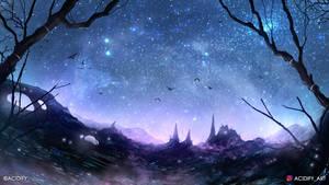 Mystery (Fantasy Landscape / Magical Concept Art)