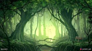 Jamaica (Fantasy Forest Landscape Concept Art)