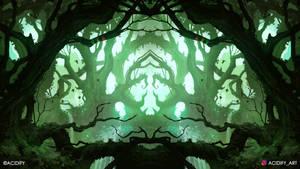 Thorn (Forest Landscape / Symmetry Concept Art)