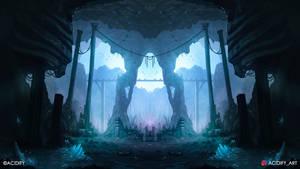 Ancient (Fantasy Landscape / Symmtery Art)