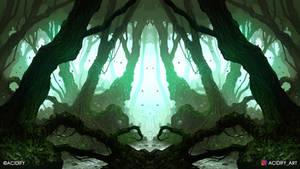 Shrub (Fantasy Forest / Symmetry Concept Art)