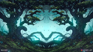 Seed (Fantasy Forest / Symmetry Concept Art)