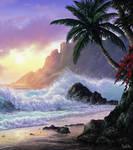 Breeze (Beach Landscape / Seascape Study)
