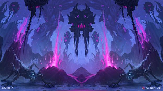 Mutant (Sci-Fi Fantasy Landscape / Symmetry Art)