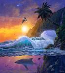 Paradise (Seascape Digital Painting / Concept Art)