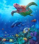 Aqua (Sea Life / Underwater Concept Art)