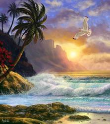 Heaven (Seascape Digital Painting / Concept Art)