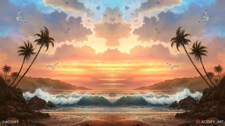 Heartland (Beach Landscape / Seascape Concept Art)
