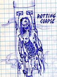 Rotting Corpse by alnikkur