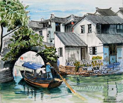 Suzhou, China by rojobe