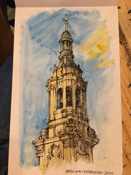 Zaragoza Cathedral tower