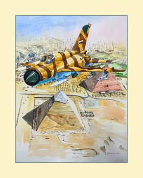 Mig 21 Egypt Air Force