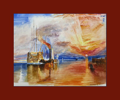 The fighting temeraire after JM Turner