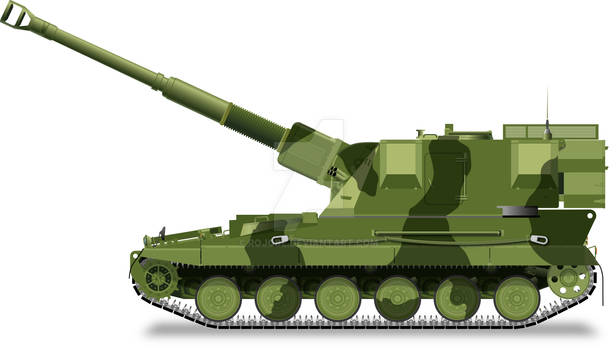 AS90 155mm Self-Propelled Howitzer