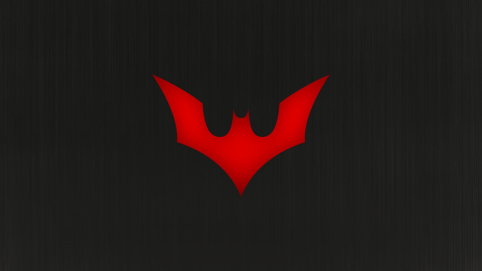 Batman Beyond (Batman of The Future) [1920x1080] by ...  Batman Beyond Logo Wallpaper Hd