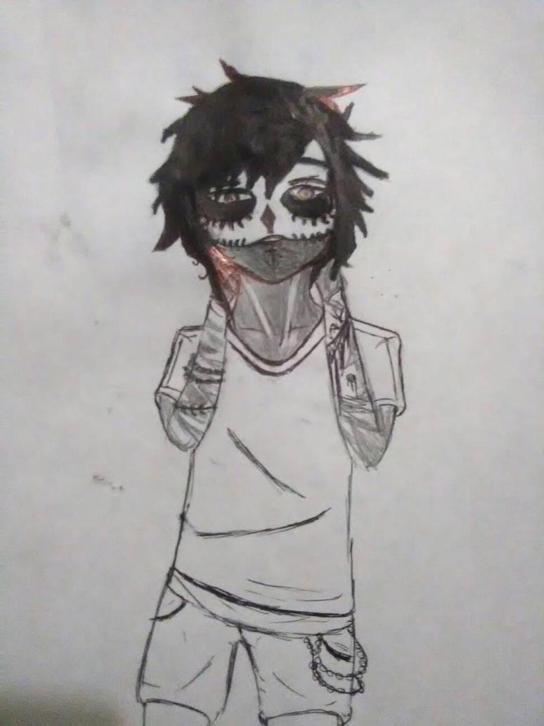 skull Boy by Gumi07wolfgirl