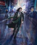 Loki. Walking Lonely Streets. by MisterLIAR
