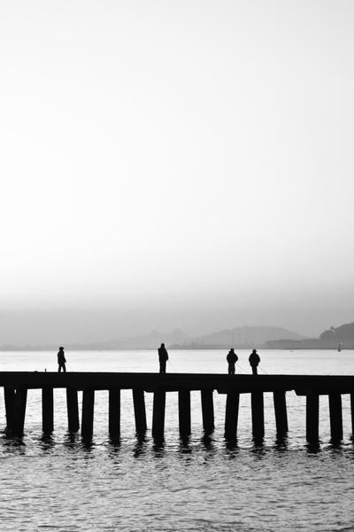 Man and Sea by AugustStudios