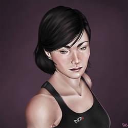 Jane Shepard by StarsandSkies-Art