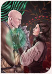 Solas and Lorelai by StarsandSkies-Art