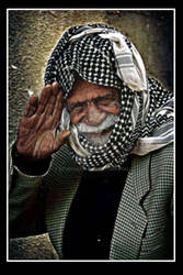 old man in iraq
