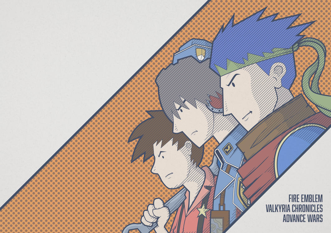 FIRE EMBLEM / VALKYRIA CHRONICLES / ADVANCE WARS by the-dumb-waiter