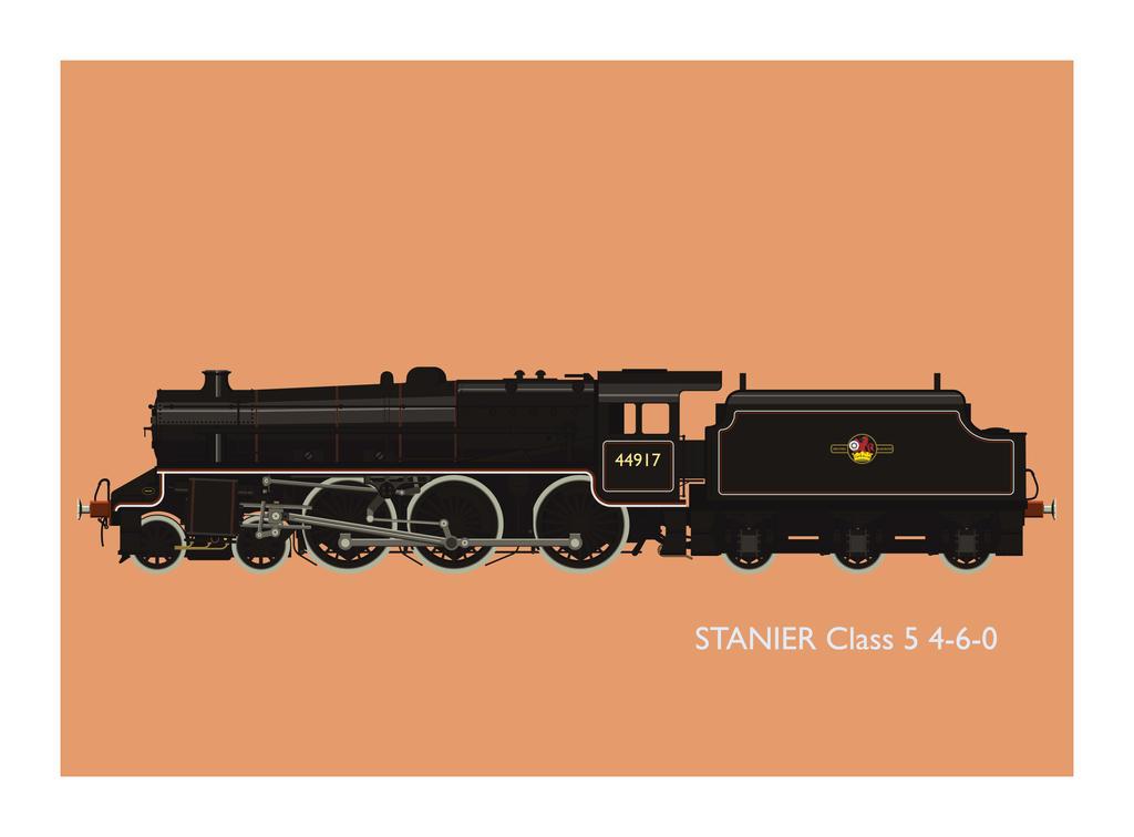 Stanier Black 5 by the-dumb-waiter
