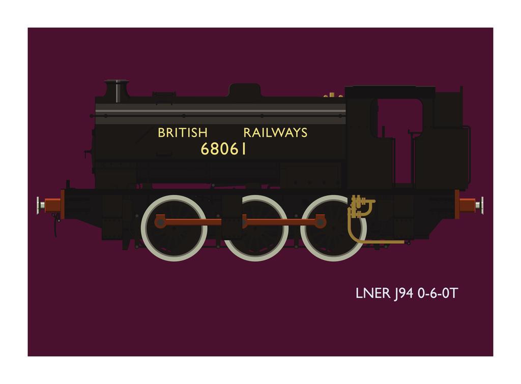 LNER J94 by the-dumb-waiter