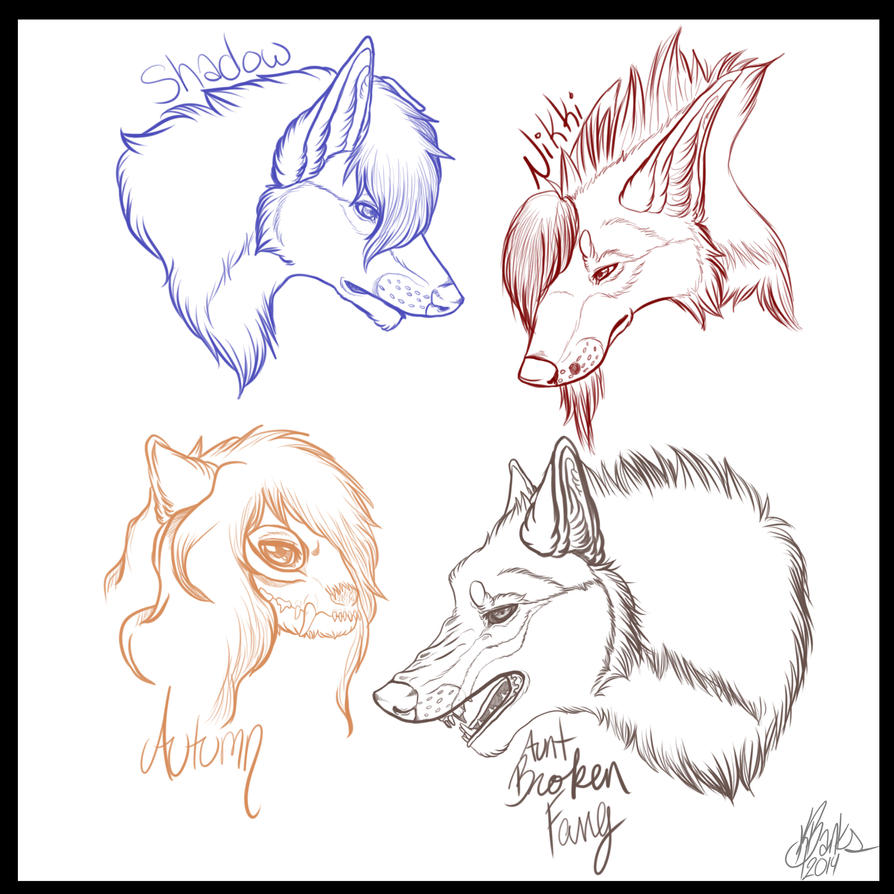 Sketches by Justt-K