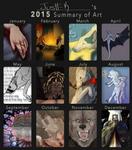 K's 2015 Summary of Art