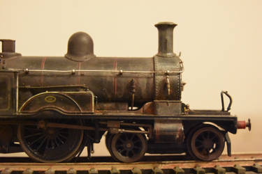 00 scale Adams radial tank  by carlosthebadman