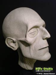 Lifesize mummy head (2012) by HDfxStudio