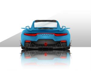 Concept Drawing Next-gen Porsche 911 Turbo S.