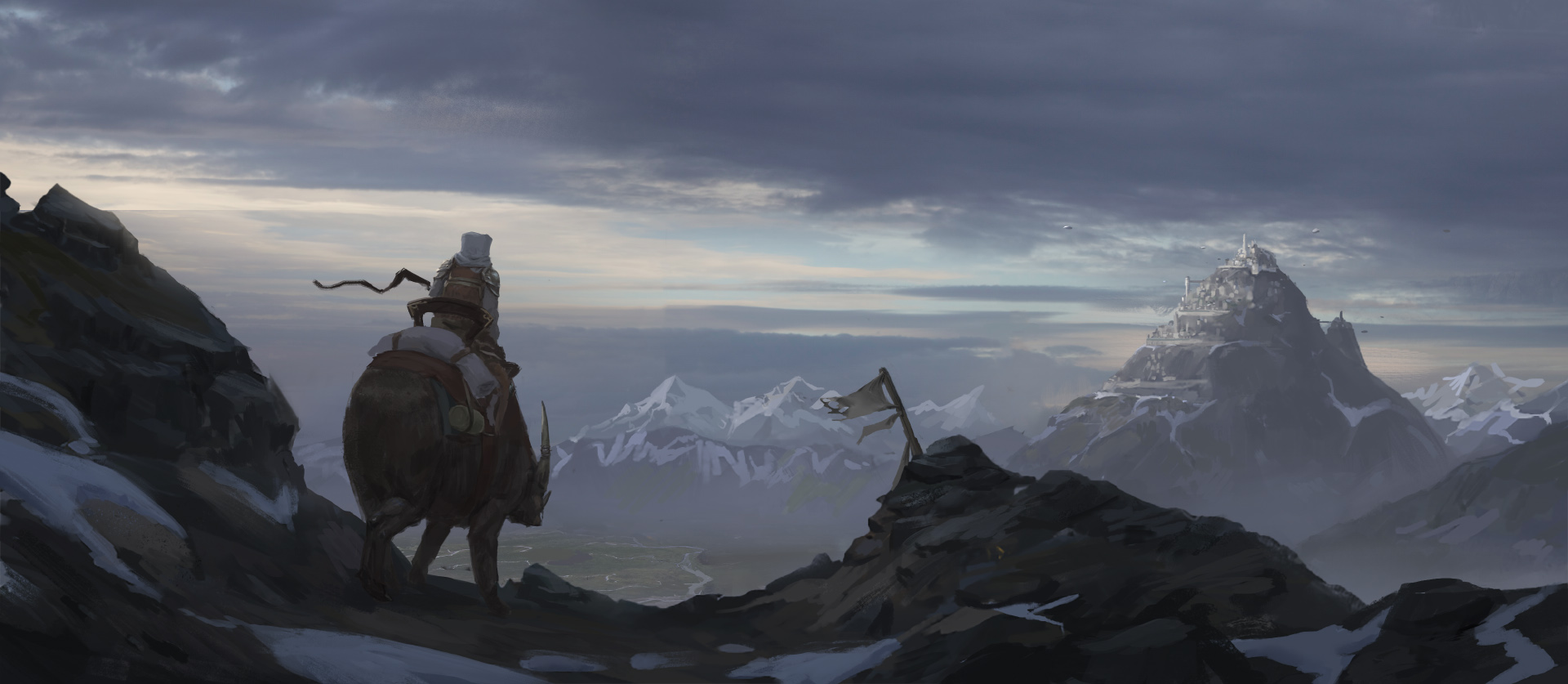Snow Pass by Jordy-Knoop